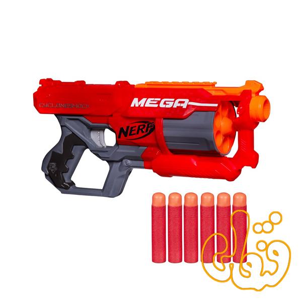 تفنگ نرف مگا Nerf Mega Cycloneshock A9353