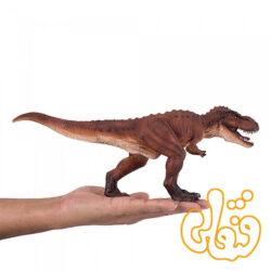 دایناسور تیرکس با فک مفصلی متحرک موجو فان Deluxe T Rex with Articulated Jaw Mojo Fun 387379