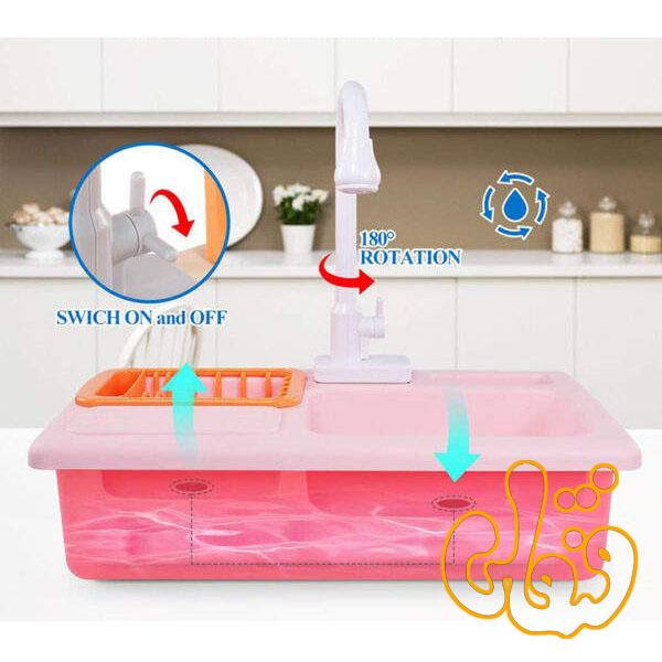 ست سینک ظرفشویی با لوازم WD-P42