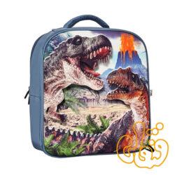 کیف کوله پشتی سه بعدی دایناسور بدون فیگور موجو فان 3D Dinosaur Junior Backpack 387715