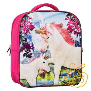 کیف کوله پشتی سه بعدی یونیکورن بدون فیگور موجو فان 3D Fantasy Junior Backpack 387716