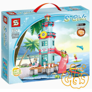 ساختنی لگو سرسره و تفریح ساحلی SY6573