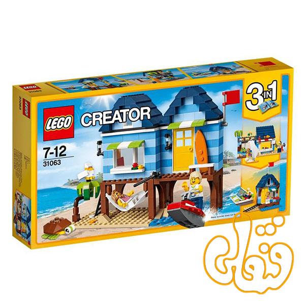 ساختنی لگو 3 مدل تعطیلات کنار ساحل Beachside Vacation 31063