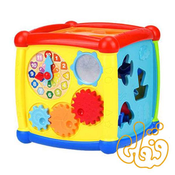 مکعب موزیکال و آموزشی Fancy Cube HE0520