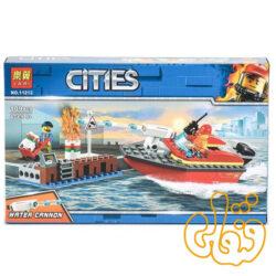 ساختنی لگو قایق آتش نشان 11212