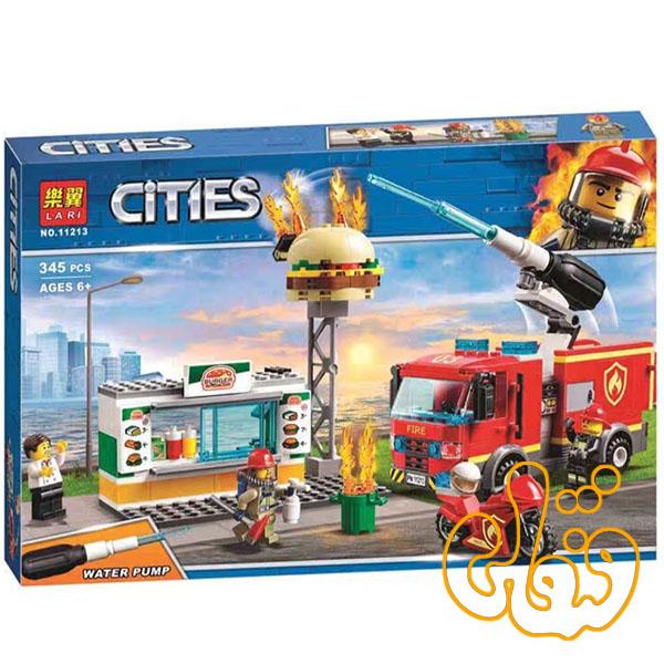 ساختنی لگو ماشین آتش نشان 11213