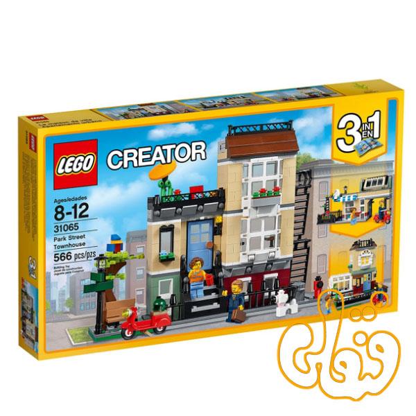 ساختنی لگو 3 مدل شهرک پارک Park Street Townhouse 31065