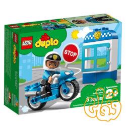 ساختنی لگو موتور پلیس Police Bike 10900