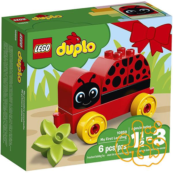 ساختنی لگو اولین کفشدوزک من My First Ladybug 10859