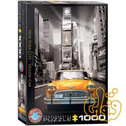 پازل تاکسی زرد نیویورک سیتی New York City - Yellow Cab 6000-0657