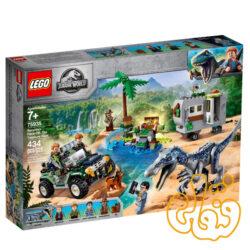 ساختنی لگو ژوراسیک Jurassic World Baryonyx Face-Off: The Treasure Hunt 75935