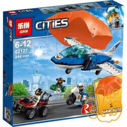 ساختنی لگو هواپیما پلیس و چترباز 02127