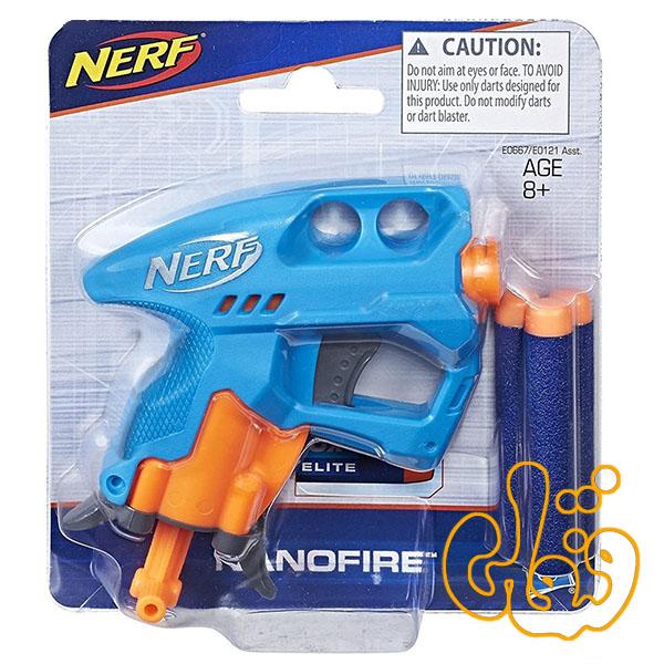 تفنگ کوچک نرف Nerf Nanofire E0667
