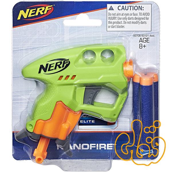 تفنگ کوچک نرف Nerf Nanofire E0707