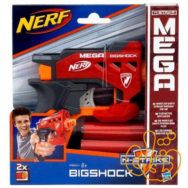 تفنگ نرف با تیرهای بزرگ مگا Nerf Bigshock A9314