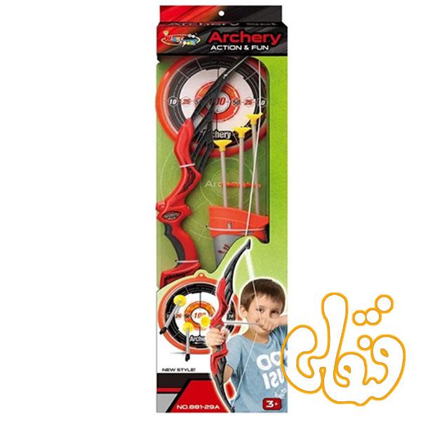 تیر و کمان با سیبل Archery Action & Fun 881-29A