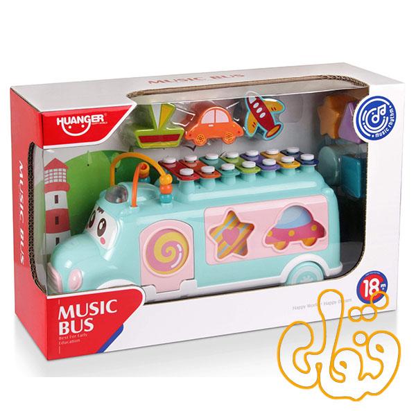 اتوبوس جاگذاری اشکال و بلز Music Bus HE8019