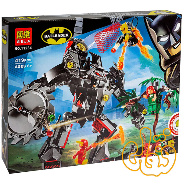 ساختنی لگو نبرد ربات بتمن با پیچک 11234