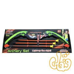 تیر و کمان چراغدار Archery Set Light-up the night! 881-23A