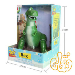 عروسک فیگور سخنگو دایناسور رکس داستان اسباب بازی ها