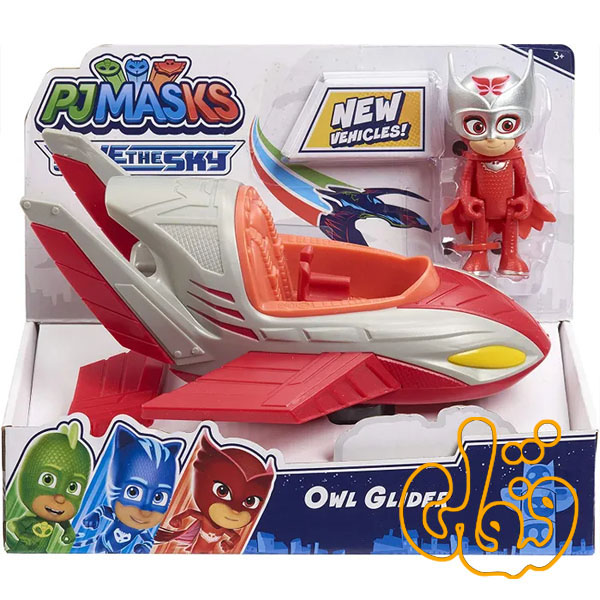 گلایدر اولت پی جی ماسک PJMASKS Owl Glider 95822