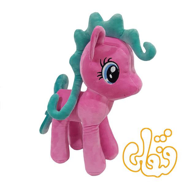 عروسک اسب پونی پولیشی صورتی OD300104