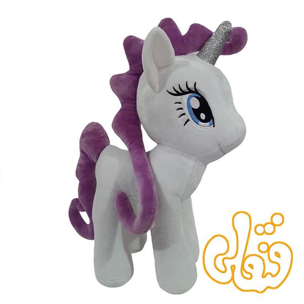 عروسک اسب پونی پولیشی سفید OD300105