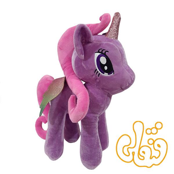 عروسک اسب پونی پولیشی بنفش OD300106